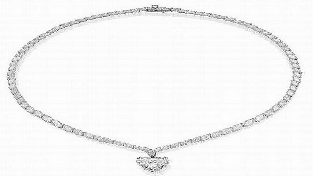 Анонимное алмазное ожерелье